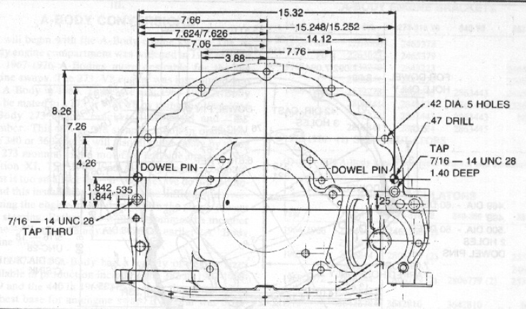 Dodge Dakota Bell Housing Location on 1997 3 8 mustang water pump