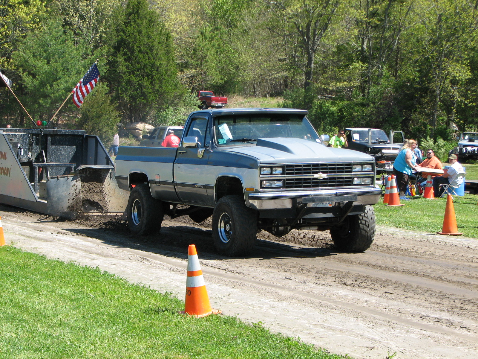 4x4 Pulling Truck Parts : Exeter ri
